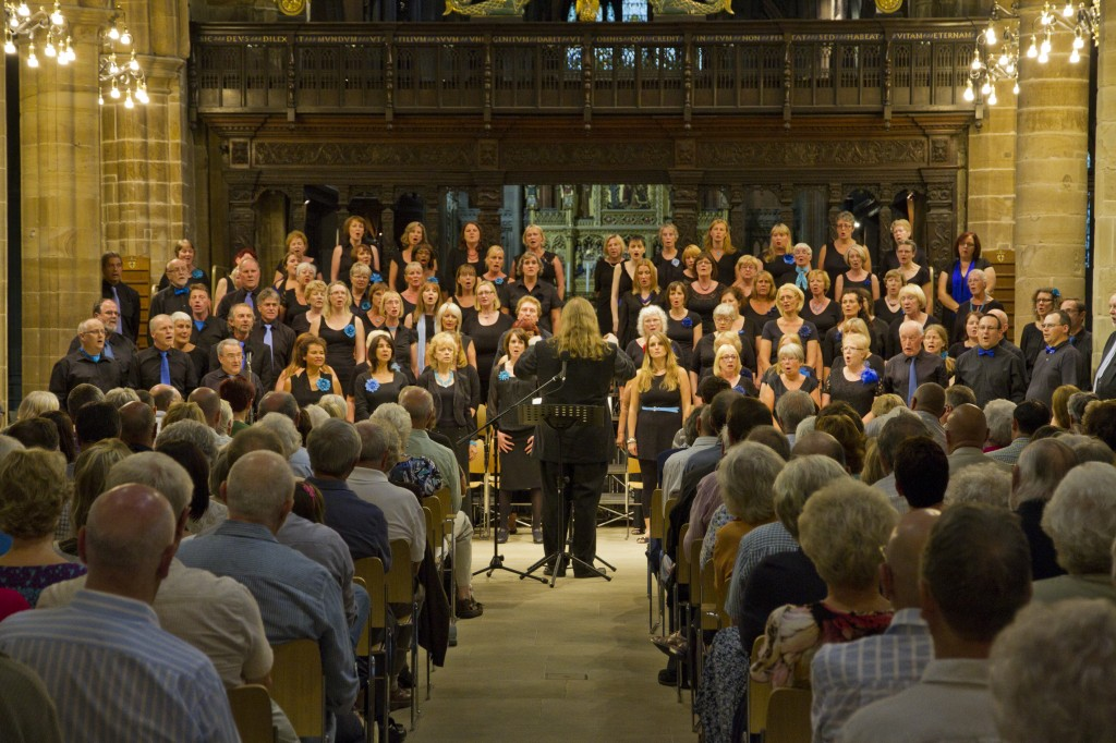 BeVox performing in Wakefield Cathedral
